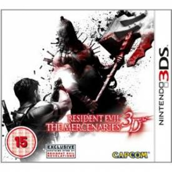 Resident Evil The Mercenaries Game 3DS - Image 1