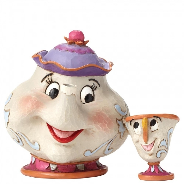Disney Traditions A Mother's Love Mrs Potts and Chip (Beaty And The Beast) Figurine