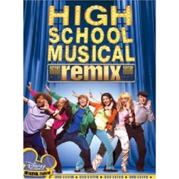High School Musical Remix Edition DVD