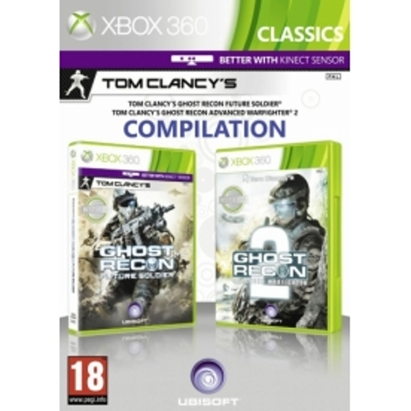 Ghost Recon Future Soldier And Ghost Recon 2 Double Pack (Classics) Xbox 360