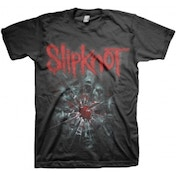 Slipknot Shattered Mens Black T Shirt Large