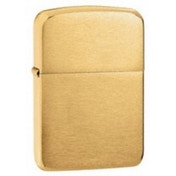 Zippo 1941 Replica Brushed Brass Windproof Lighter