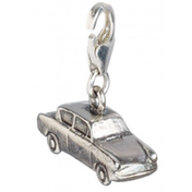 Sterling Silver Mr Weasleys Ford Anglia Flying Car Clip on Charm