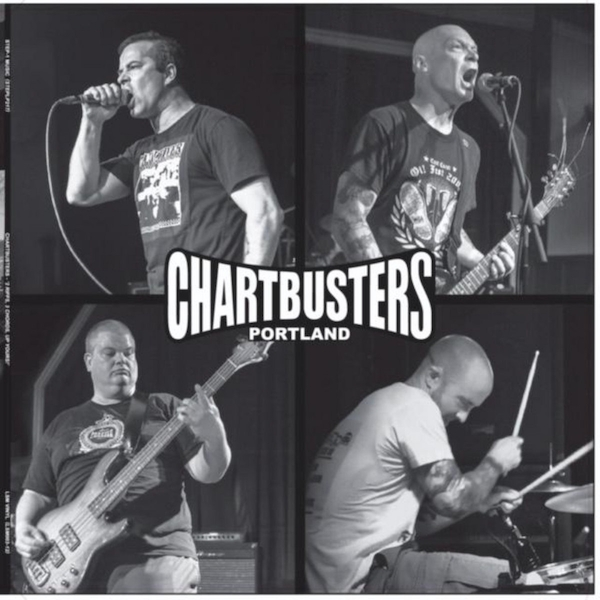 Chartbusters - 3 Chords 2 Riffs Up Yours Vinyl