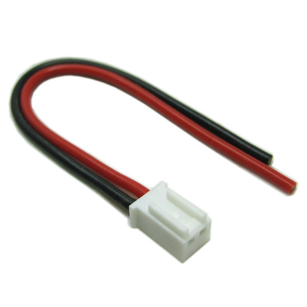 Etronix Male Micro Balance Connector With 10Cm 20Awg Silicone Wire