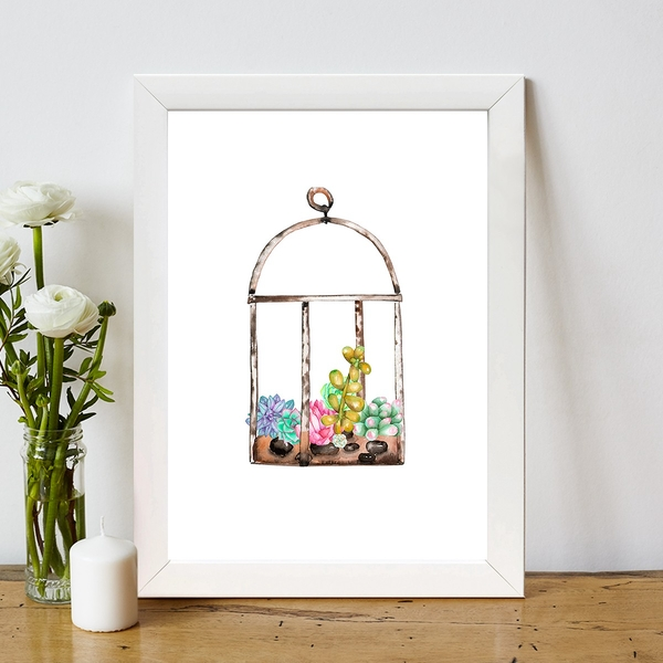BC4476987196 Multicolor Decorative Framed MDF Painting