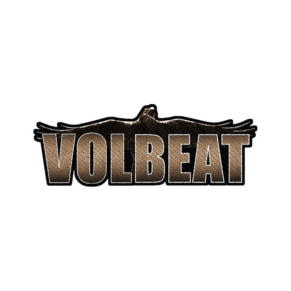 Volbeat - Raven Logo Cut-out Standard Patch