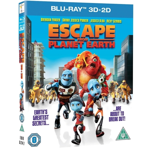 Escape from Planet Earth 2D/3D Blu-ray