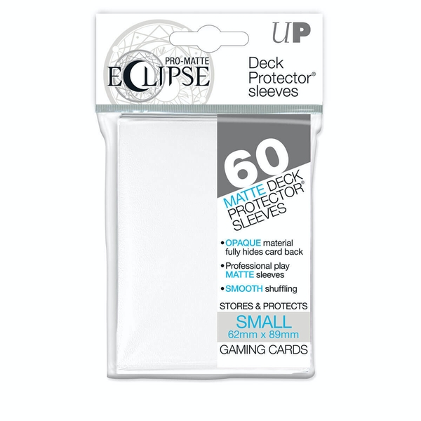 Ultra Pro Pro-Matte White Small Deck Protectors - 60 Sleeves