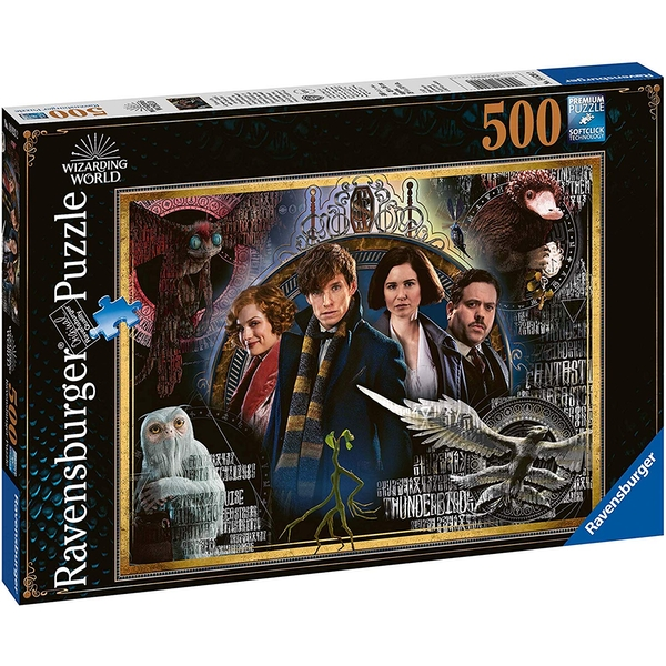 Ravensburger Fantastic Beasts - The Crimes of Grindelwald 500 Piece Jigsaw Puzzle