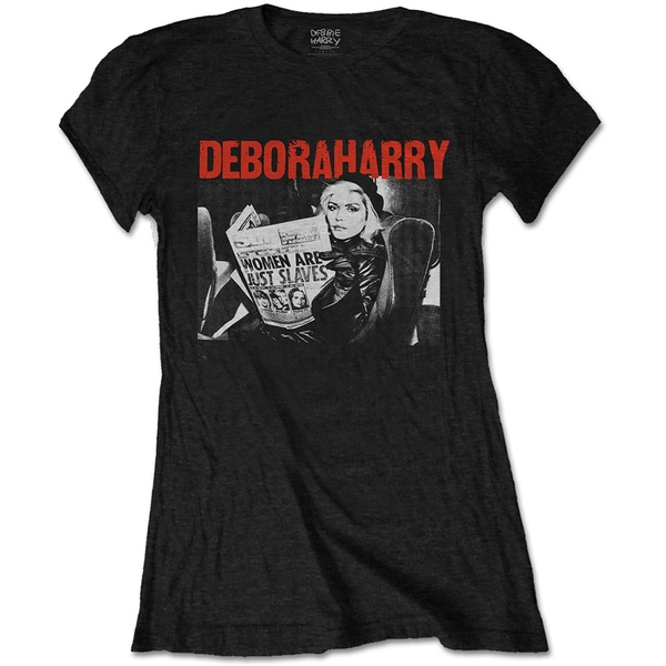 Debbie Harry - Women Are Just Slaves Women's XX-Large T-Shirt - Black