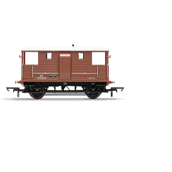 Hornby SR, Diag 1543 Goods Brake Van, SR55052 - Era 3 Model Train