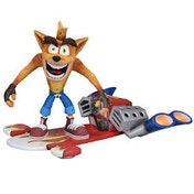 Crash Bandicoot Hover Craft Neca Action Figure