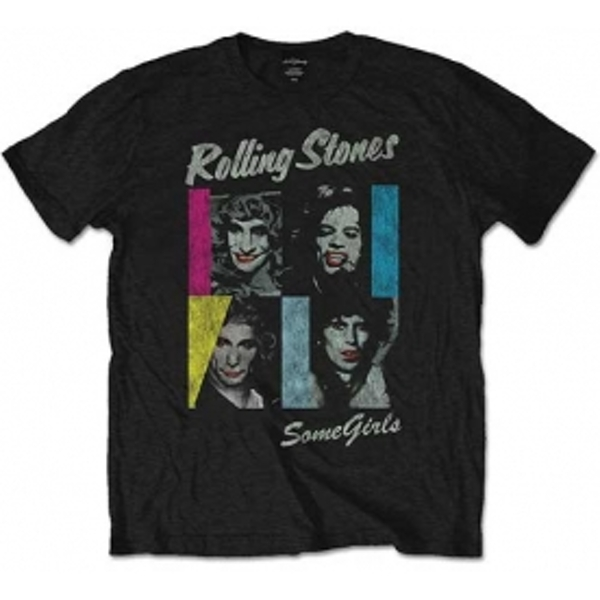 Rolling Stones Some Girls Men's Small T-Shirt - Black