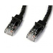 2m Black Gigabit Snagless RJ45 UTP Cat6 Patch Cable - 2 m Patch Cord