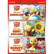 Rupert The Bear Snowglobe/Giant Egg Race/Giant Sunflower DVD