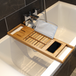 Extendable Bamboo Bath Caddy | M&W - Image 6
