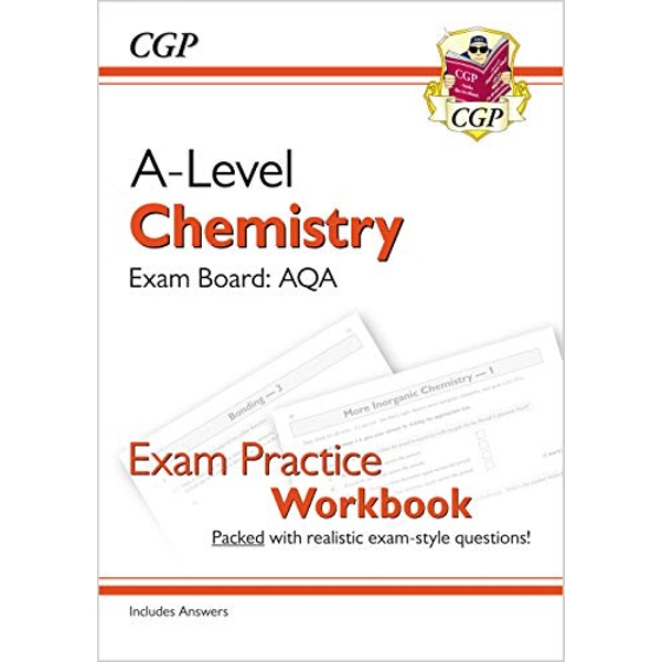 New A-Level Chemistry: AQA Year 1 & 2 Exam Practice Workbook (2018, Paperback)