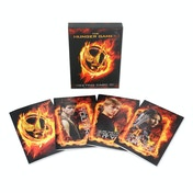 HUnger Games - Girl ON Fire Greeting Card's set