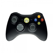 (Damaged Packaging) Official Xbox 360 Wireless Controller Black