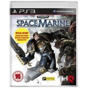 Warhammer 40000 Space Marine Game + Golden Chainsword Weapon Code PS3