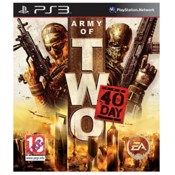 Army of Two The 40th Day Game PS3