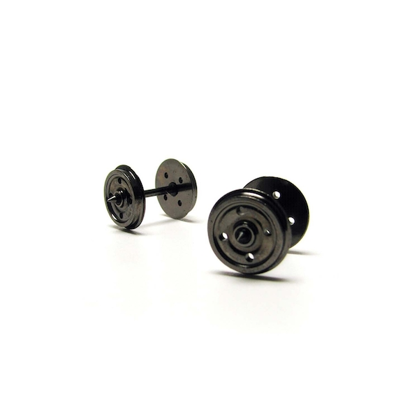 Hornby 14.1mm Disc Wheels - 4 hole (Pack 10)
