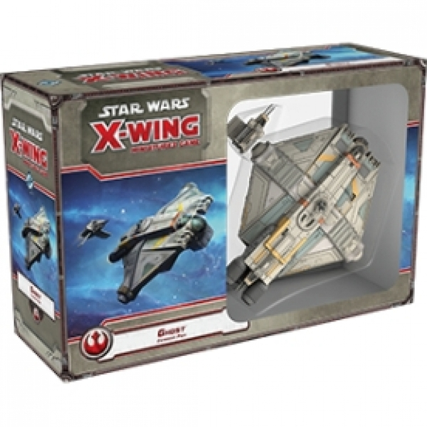 Ex-Display Star Wars X-Wing Ghost Expansion Pack Board Game Used - Like New