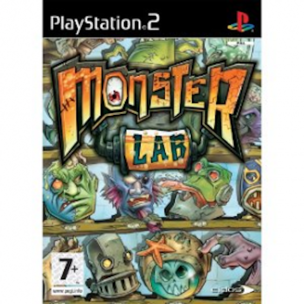 Monster Lab Game PS2