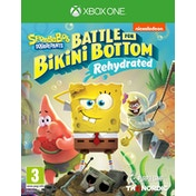Spongebob SquarePants Battle for Bikini Bottom Rehydrated Xbox One Game