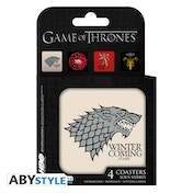 Game Of Thrones - Houses Coasters (Set Of 4)
