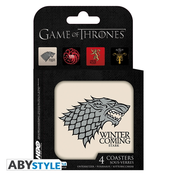 Game Of Thrones - Houses Coasters (Set Of 4) - Image 1