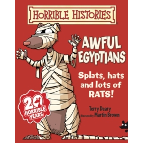 Awful Egyptians (Horrible Histories) Paperback