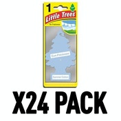 Summer Cotton (Pack Of 24) Little Trees Air Freshener
