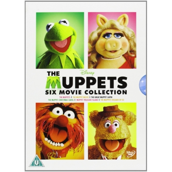 The Muppets Six Movie Collection DVD