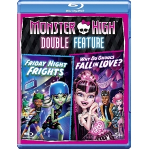 Monster High Friday Night Frights / Why Do Ghouls Fall In Love? Blu-ray