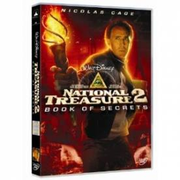 National Treasure 2 Book Of Secrets DVD