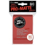 Ultra Pro Matte Small Red DPD 10 Packs Of 60