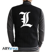 Death Note - L Symbol Men's Medium Hoodie - Black