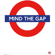 Transport For London Mind The Gap Maxi Poster