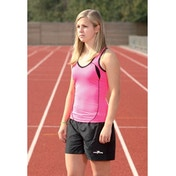 Precision Unisex Running Shorts Black 22-24 inch