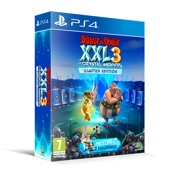 Asterix & Obelix XXL 3 The Crystal Menhir PS4 Game