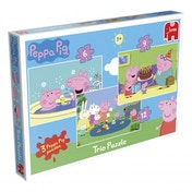 Peppa Pig 3 in 1 Jigsaw Puzzles