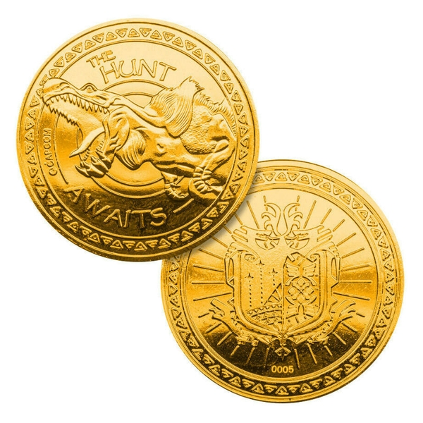 Monster Hunter World Limited Edition Coin (Gold)
