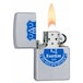 Zippo Everton FC (Official Printed Crest) Satin Chrome Windproof Lighter - Image 2