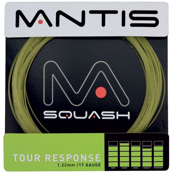 MANTIS Tour Response 17LG String Set 10m Black