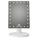 LED Light Up Illuminated Make Up Bathroom Mirror With Magnifier | M&W White - Image 8