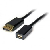 3 ft DisplayPort to Mini DisplayPort Video Cable Adapter - M/F