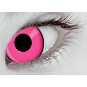 Climax Pink MesmerGlow UV Cosmetic Lenses 1 Month