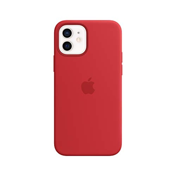 Apple Silicone Case with MagSafe (for iPhone 12 | 12 Pro) - (PRODUCT) RED